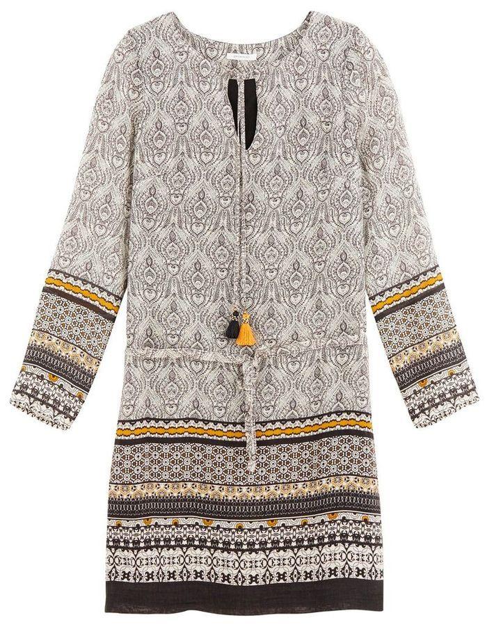 robe manches longues promod 40 robes manches longues pour affronter l hiver elle. Black Bedroom Furniture Sets. Home Design Ideas