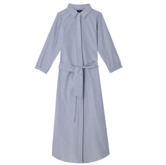 Robe mi-longue Caroll
