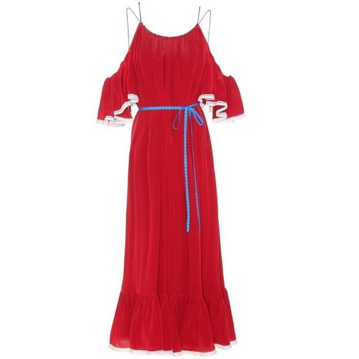 Robe rouge Anna October