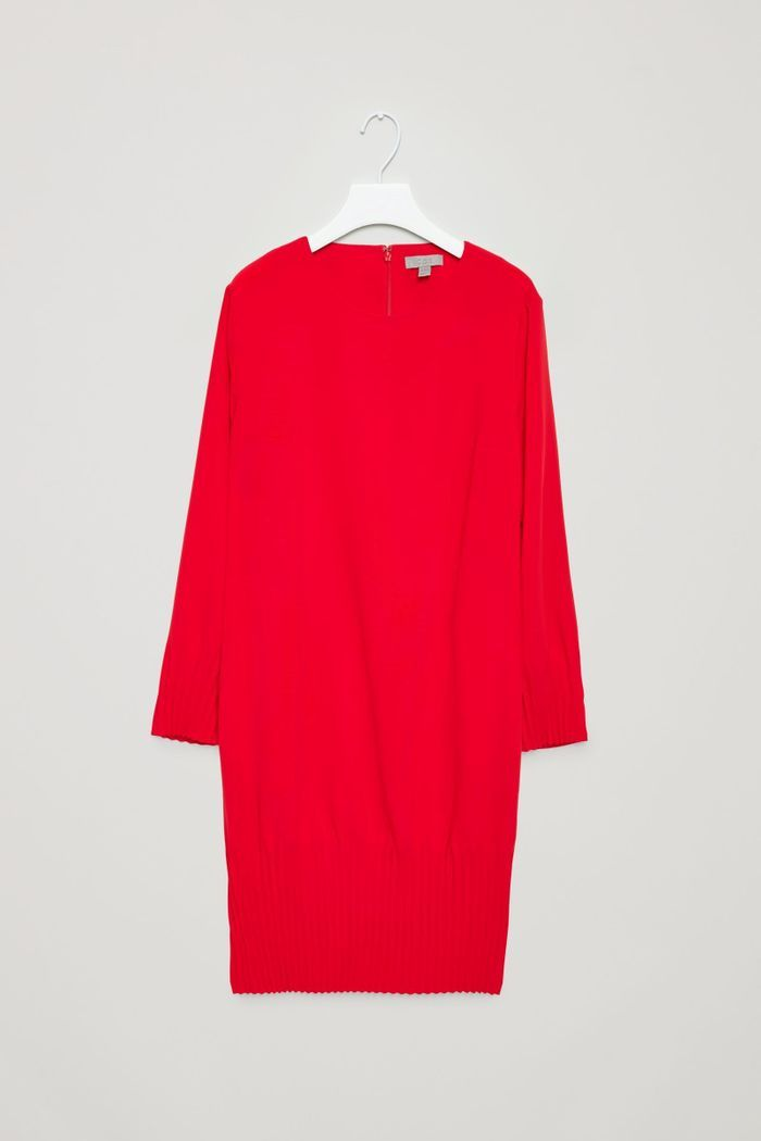 Robe rouge Cos