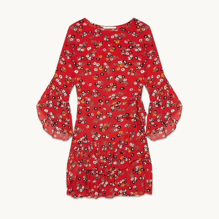 Robe rouge Maje