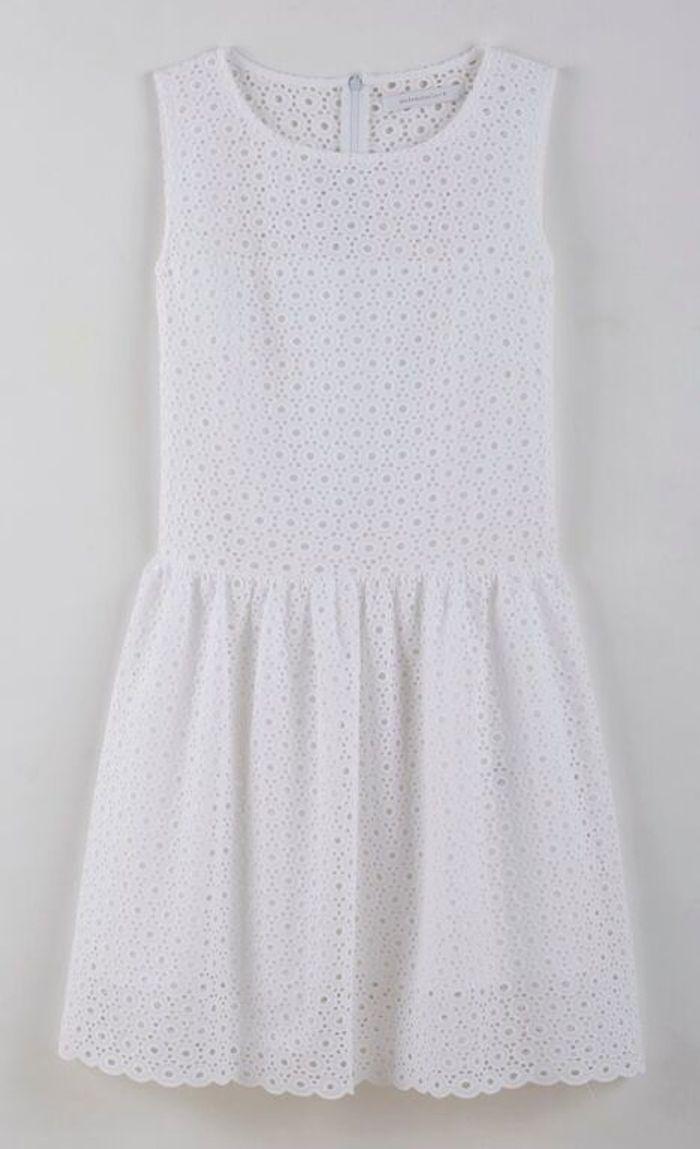 robe de plage blanche la redoute 50 robes de plage qui. Black Bedroom Furniture Sets. Home Design Ideas