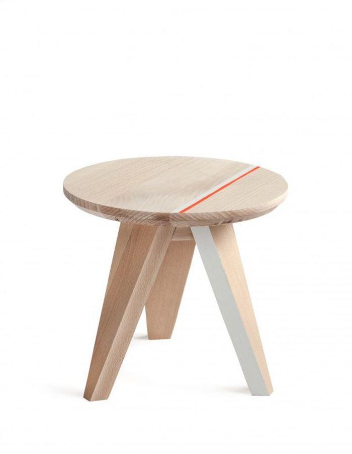 un tabouret en bois no l plus de 100 cadeaux design elle. Black Bedroom Furniture Sets. Home Design Ideas