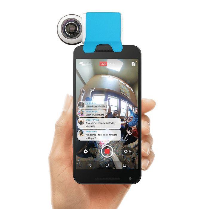 Camera 360° pour smartphone