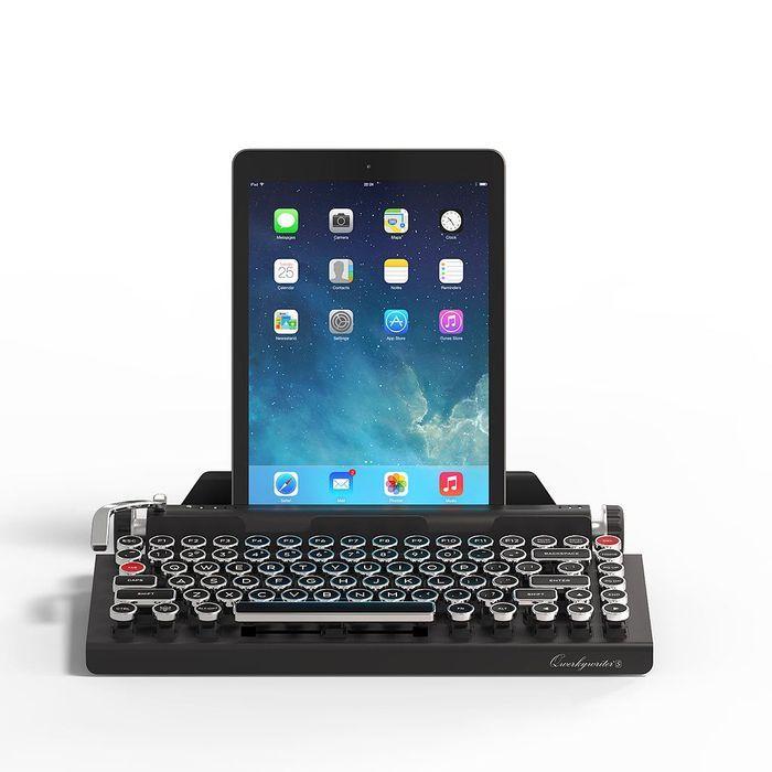 Clavier machine à écrire pour tablette