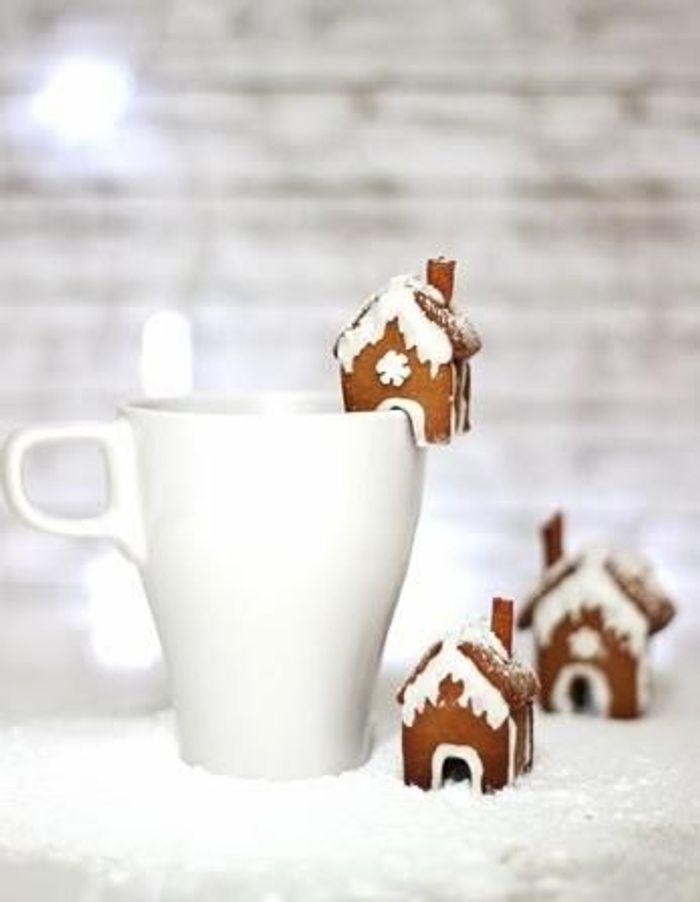 Mini-maisons en pain d'épices