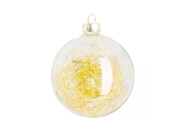 Boule de Noël dorée