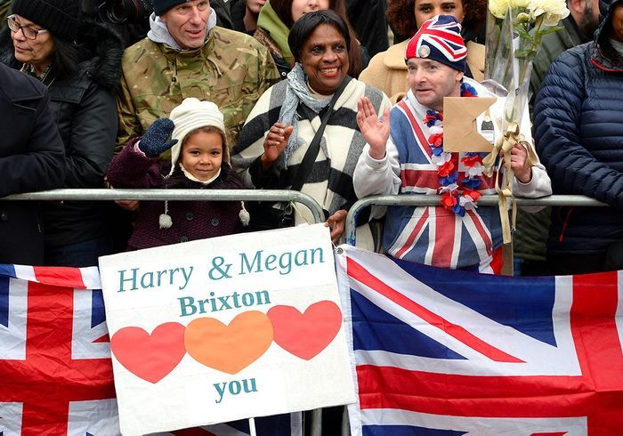 Les royal enthusiasts attend Meghan !