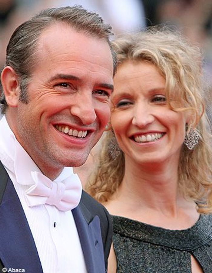 jean dujardin et alexandra lamy la love story d un gars une fille elle. Black Bedroom Furniture Sets. Home Design Ideas