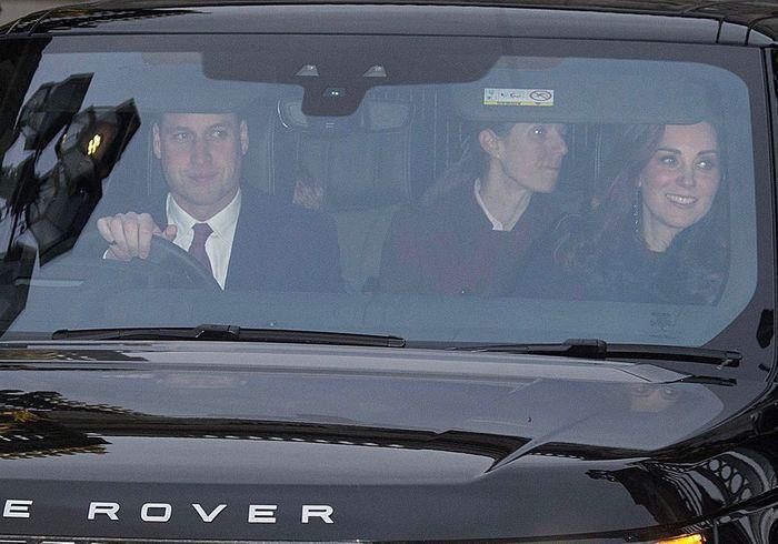 Le prince William, Kate Middleton et la nounou des enfants