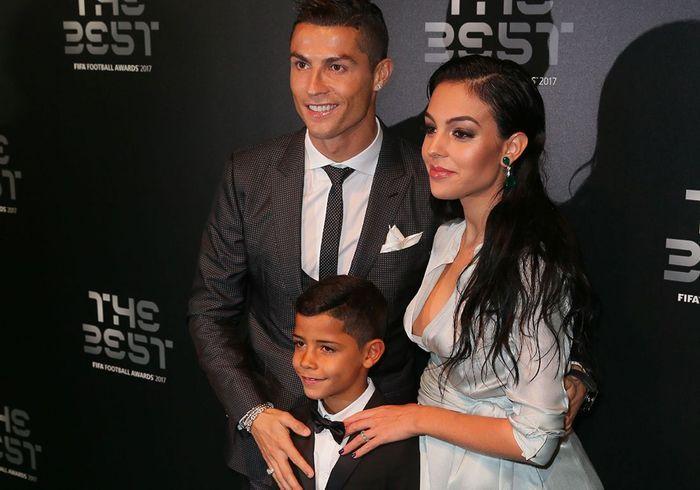 Cristiano Ronaldo et Georgina Rodriguez