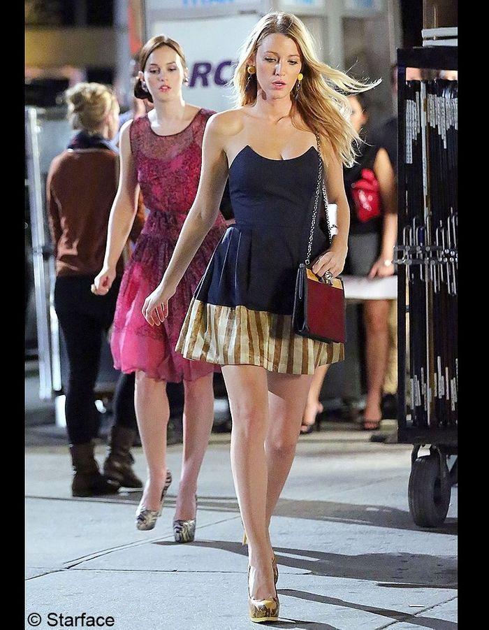 ... gossip girl une tendance repérée sur le tournage de gossip girl à