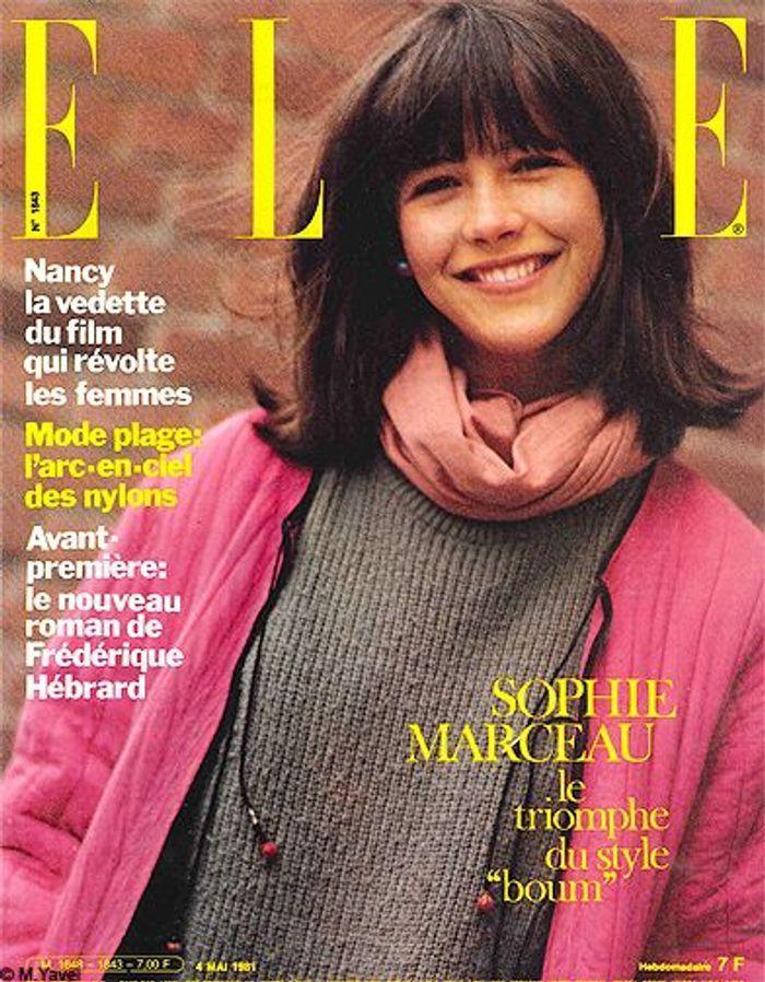 people couverture sophie marceau mike yavel boum 1981 sophie marceau et elle la belle. Black Bedroom Furniture Sets. Home Design Ideas