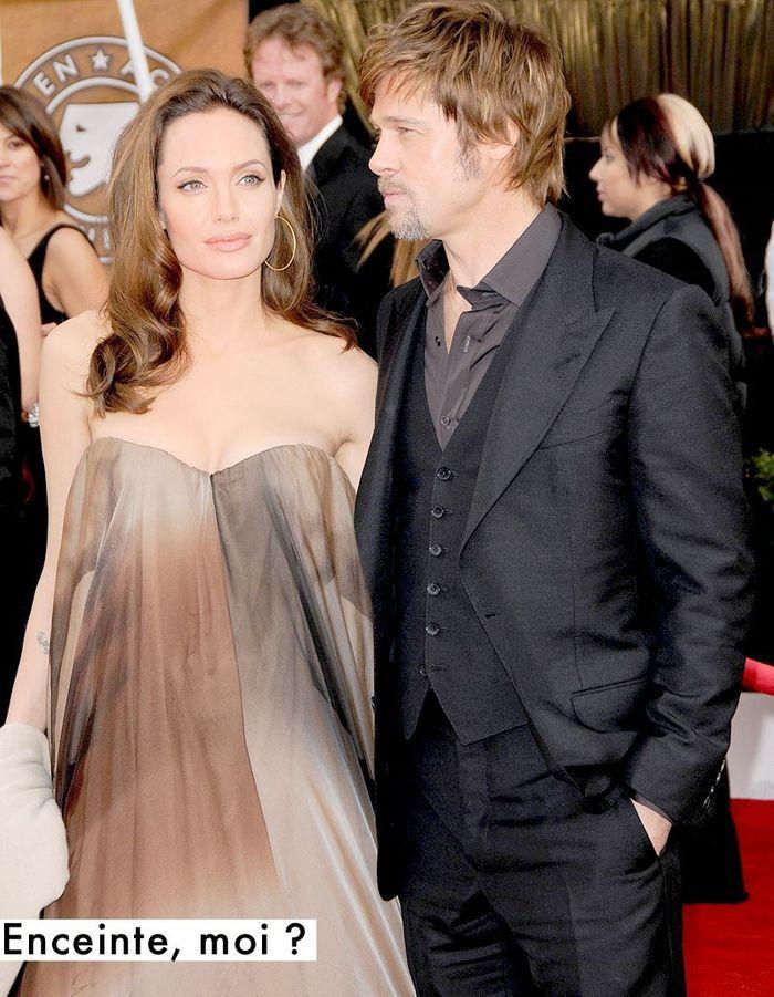 Angelina Jolie Enceinte Moi Tapis Rouge Ce Que