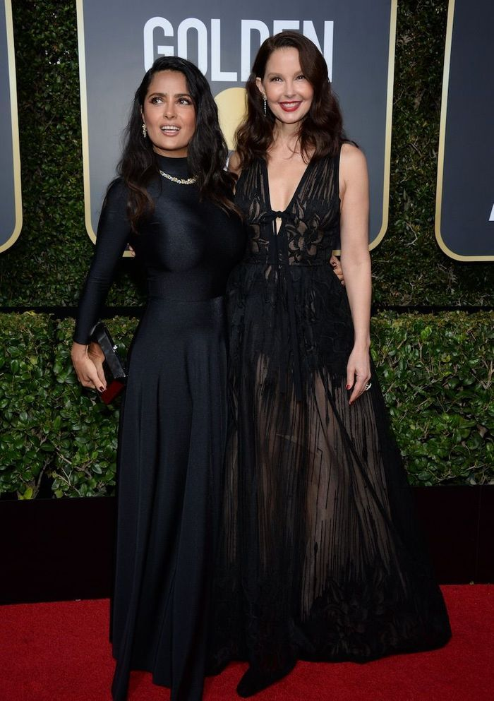 Ashley Judd et Salma Hayek