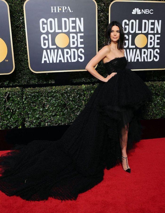 Kendall Jenner en Giambattista Valli Couture