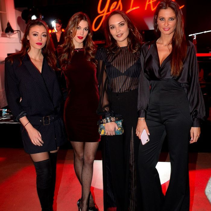 Rachel Legrain Trapani, Iris Mittenaere, Valérie Bègue et Malika Ménard