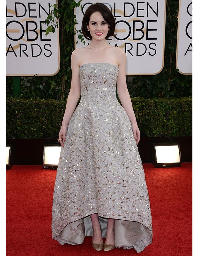 Michelle Dockery en Oscar de la Renta - Le tout Hollywood ...
