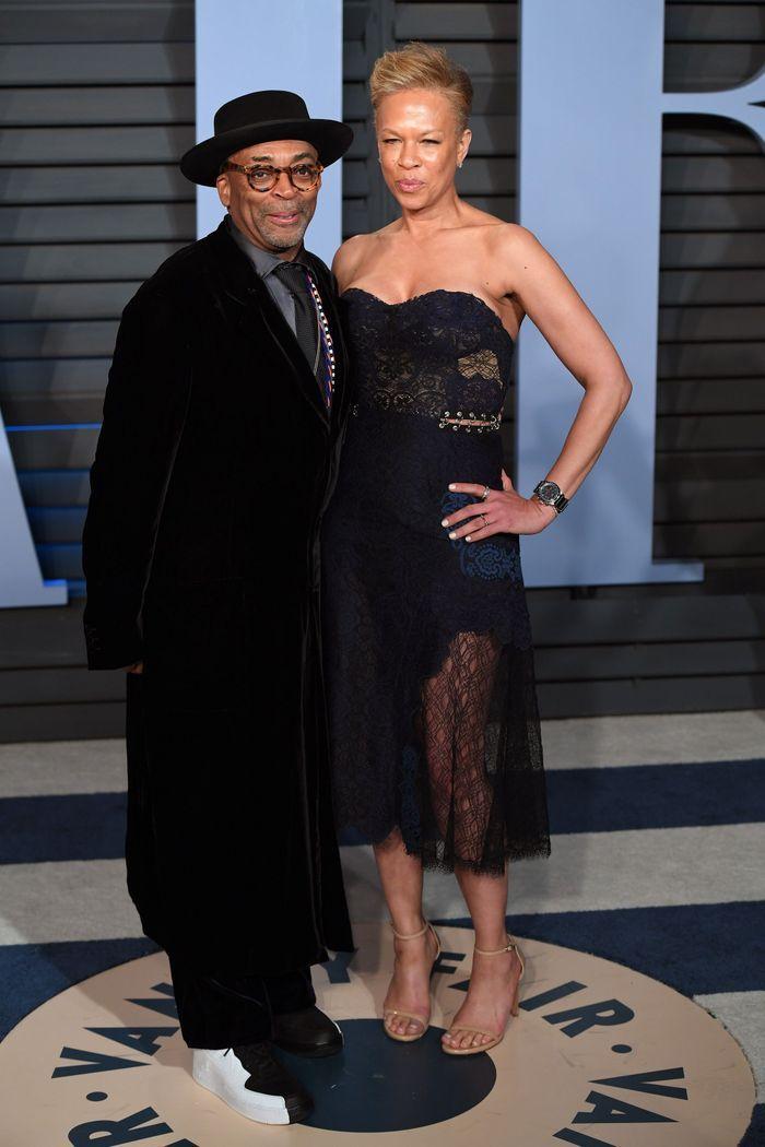 Spike Lee et Tonya Lewis