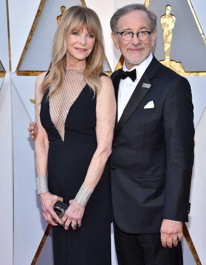 Jessica Capshaw et Steven Spielberg