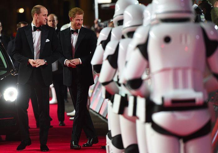 Star Wars : William et Harry, les princes d'une galaxie lointaine