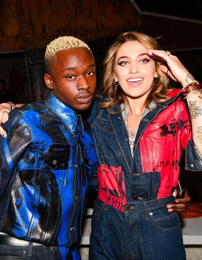 Paris Jackson et Ashton Sanders