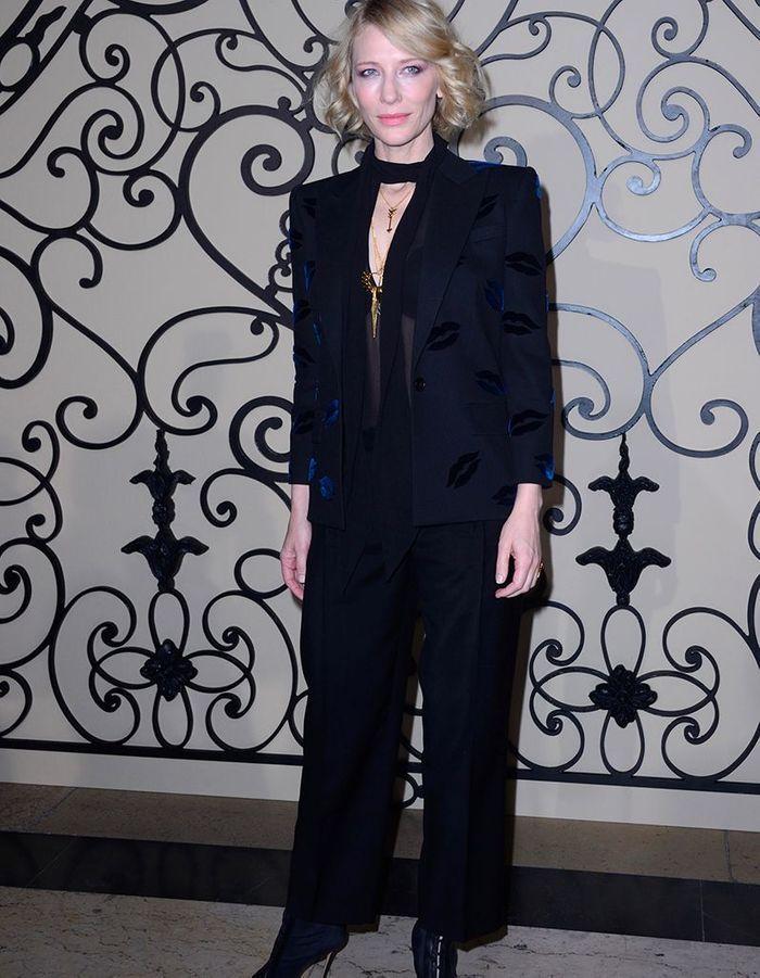 Cate Blanchett au défilé Givenchy