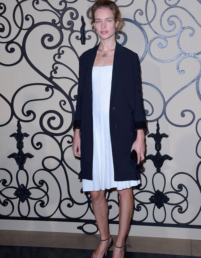 Natalia Vodianova au défilé Givenchy