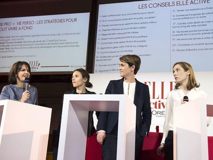 Isabelle Vitali, Lara Rouyrès, Isabelle Guyony-Hovasse et Claire Leost