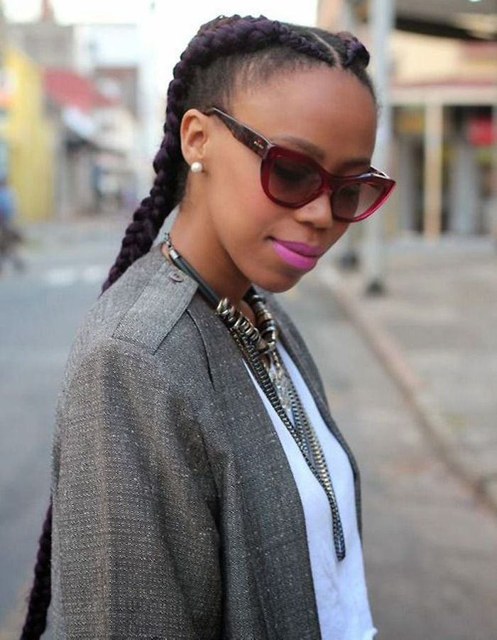 Coiffure pour cheveux afro hiver 2015 - Coiffures afro  les filles stylu00e9es donnent le ton - Elle