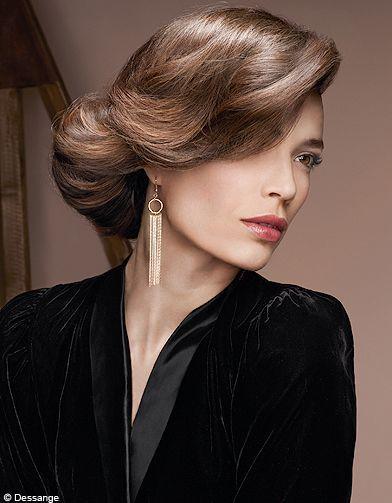 Beaute Tendance Cheveux Coiffure Hiver Desange IconeAbsolue - 100 Coiffures Automne/hiver 2011 ...