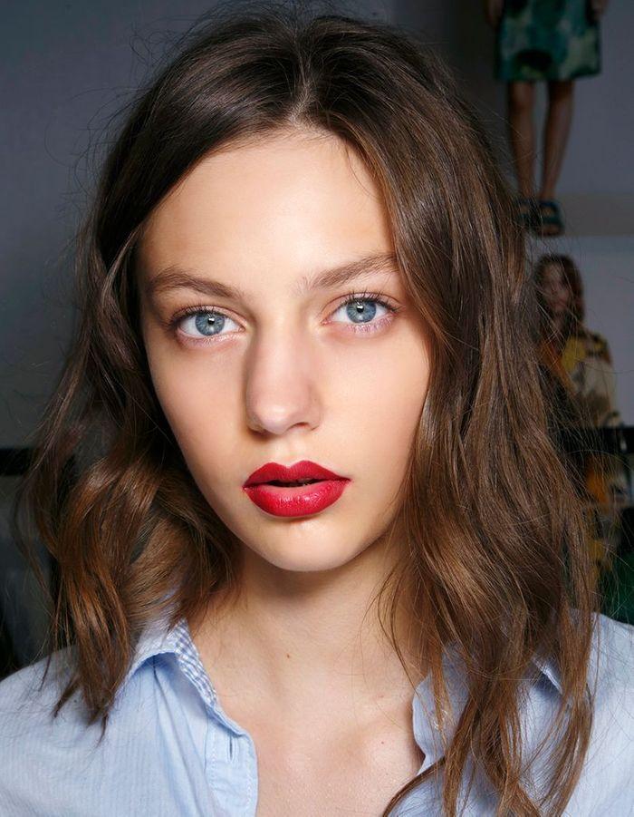Coloration chocolat yeux bleus - Coloration chocolat  les plus belles nuances pour su0026#39;inspirer ...