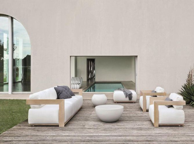 Un Salon De Jardin Design - Elle Du00e9coration