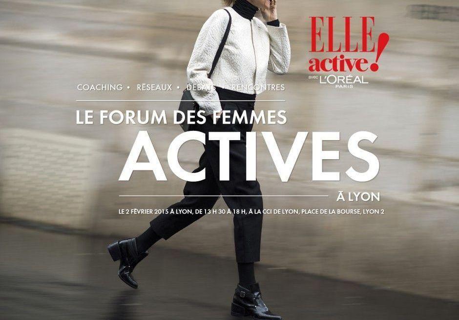 Inscrivez-vous à ELLE ACTIVE, à Lyon