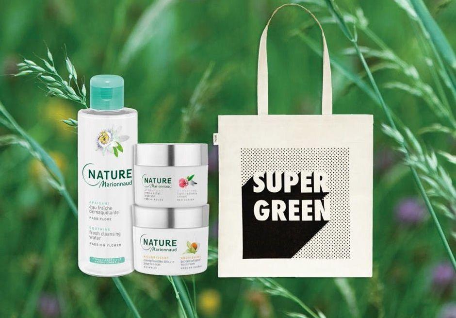Marionnaud vous offre un sac avec votre soin Marionnaud Nature !