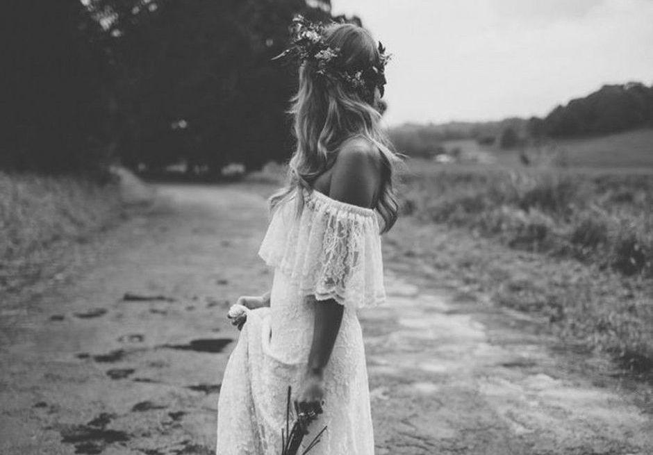 20 robes de mariée en dentelle repérées sur Pinterest