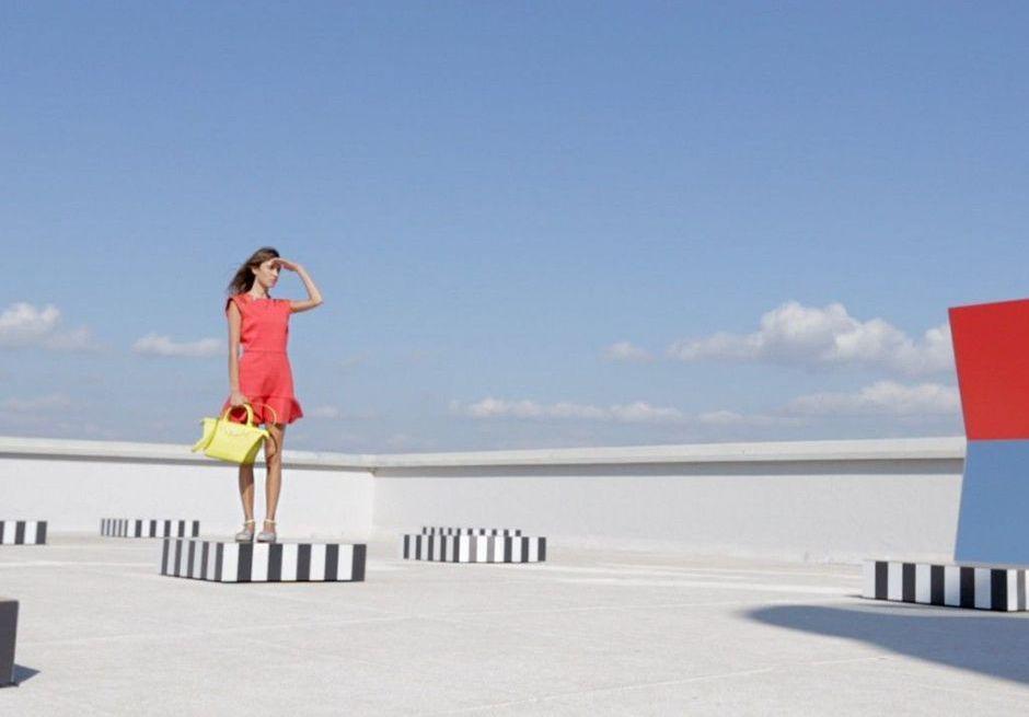 Exclu : l'été 2015 selon Alexa Chung dans la campagne Longchamp