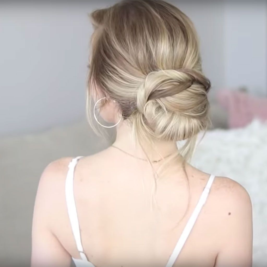 7 tutos coiffures pour un mariage - elle