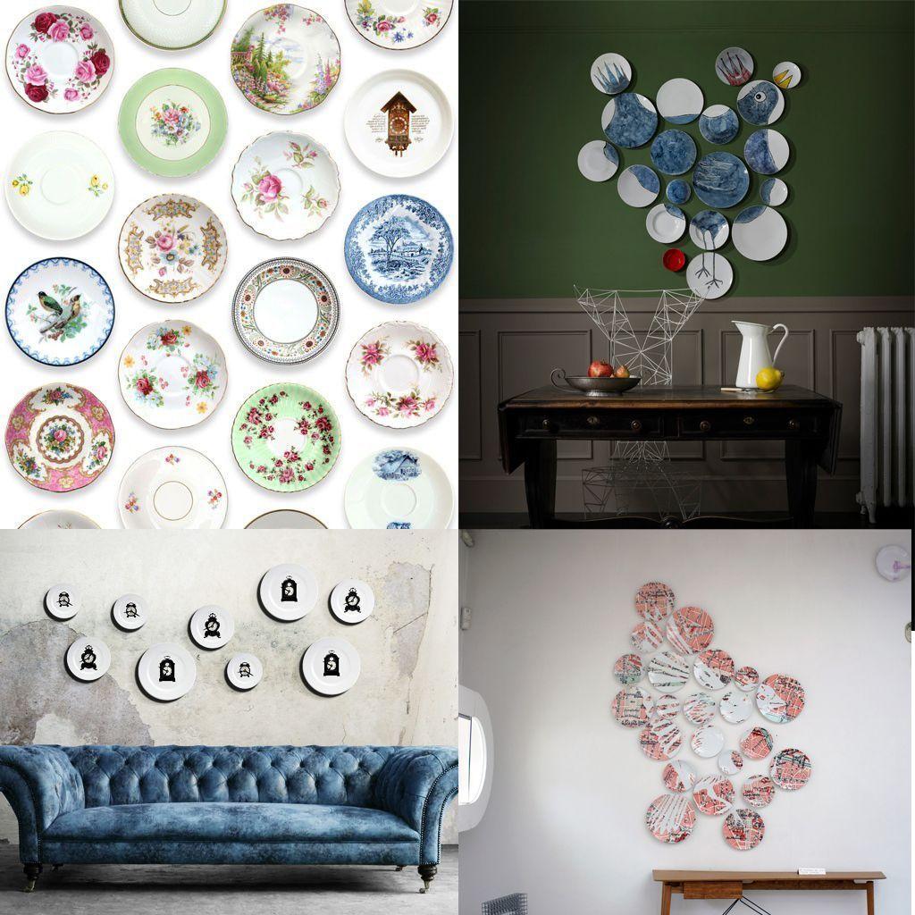 Décorer Son Mur Avec Des Photos doit-on vraiment succomber… aux assiettes au mur ? - elle