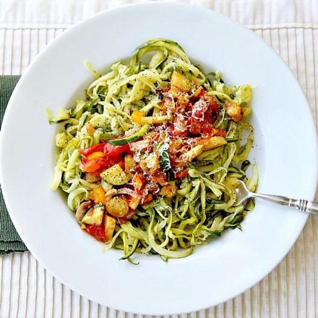 Courgette Spaghetti Comment Agrementer Des Spaghetti De