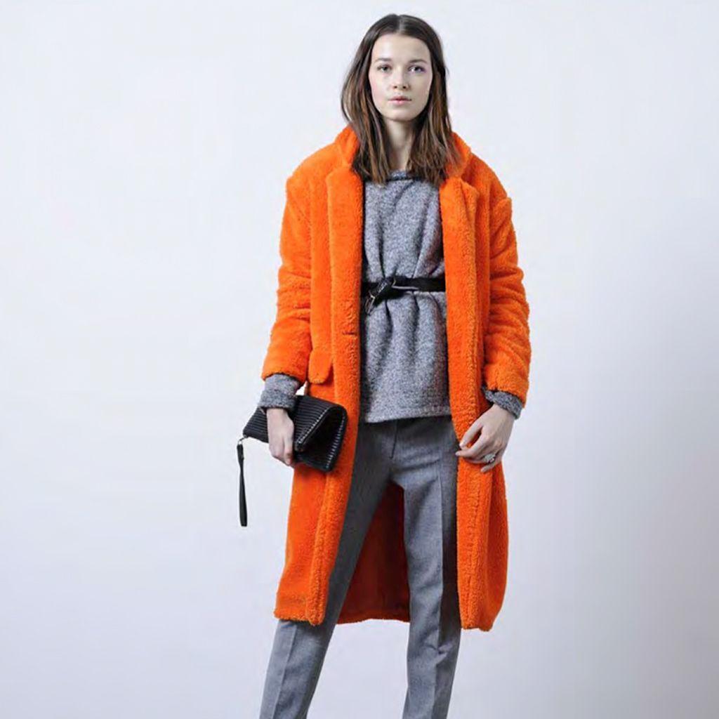 Manteau chaud et impermeable femme