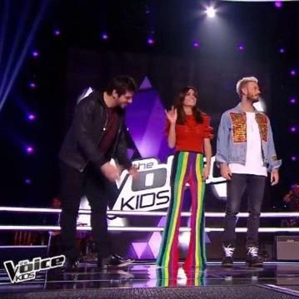 Jenifer Son Pantalon Balmain Dans The Voice Kids Cree Le Buzz Elle
