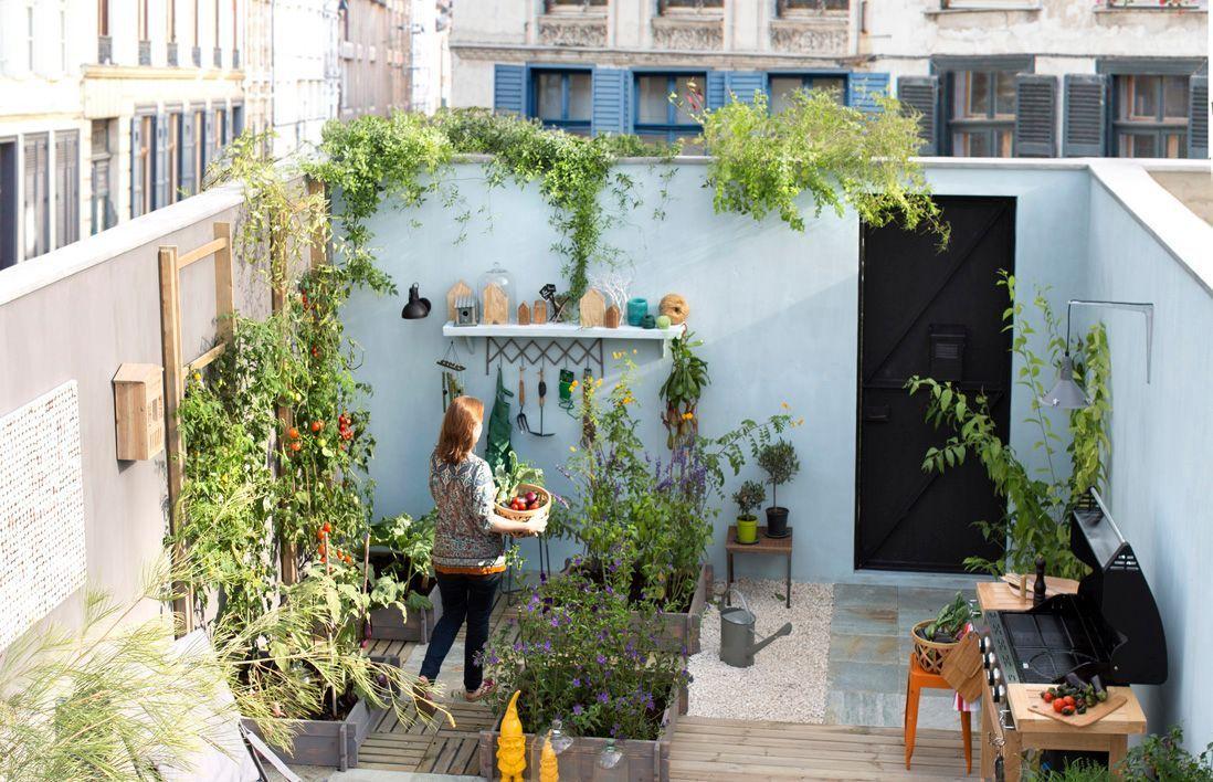 Deco Petite Terrasse Exterieur petit jardin : nos astuces et conseils pour un petit jardin