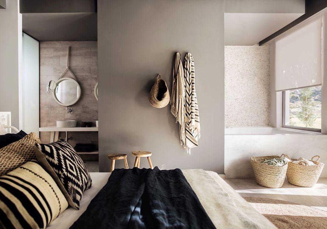 Perfect Salle De Bains Ouverte Sur Chambre