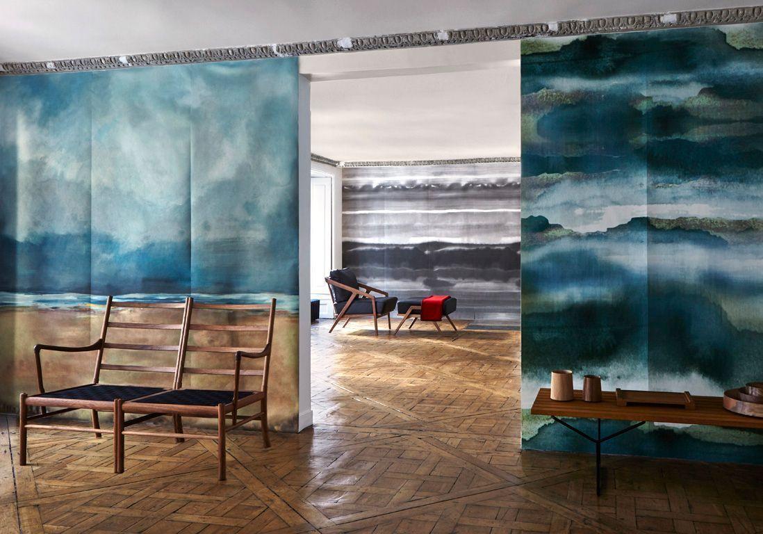 Papier Peint Panoramique Paysage papier-peint panoramique : les paysages investissent nos