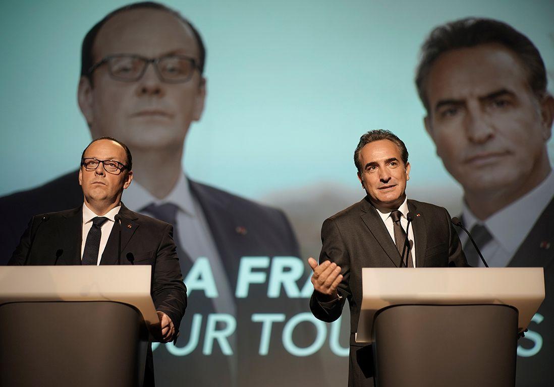 Présidents », le film hilarant qui rejoue un face-à-face Hollande-Sarkozy - Elle