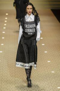 Défilé Dolce & Gabbana Prêt à porter Automne-hiver 2018/2019
