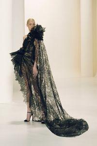 Défilé Elie Saab Haute Couture automne-hiver 2021-2022