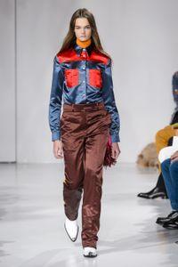 Défilé Calvin Klein Prêt à porter Printemps-Été 2018