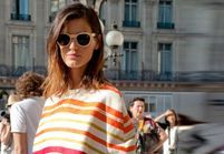 Street Style coiffure : le tie and dye